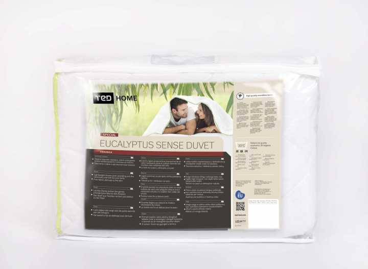 Завивка eucalyptus sense /евкалипт сенс/ - лятна, Олекотени завивки, Продукти за сън 356200351