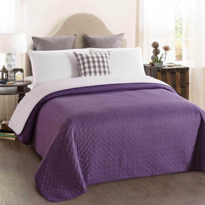Шалте двуцветно, лила, Шалтета и кувертюри, Продукти за сън 606656435
