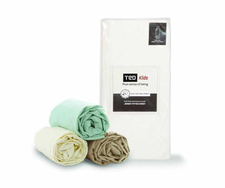 Цветен чаршаф с ластик за бебе/дете, Аксесоари за сън, Продукти за сън 1400649952