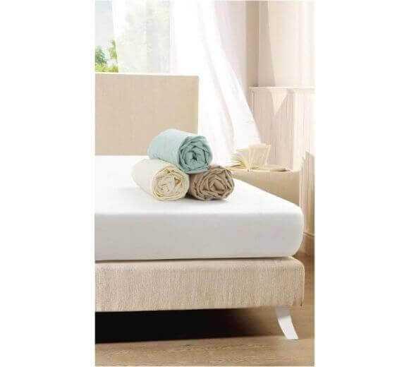 Еластичен чаршаф с ластик, кафе, Спални комплекти, Продукти за сън 1036611351