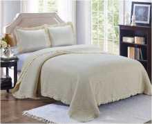 Комплект кувертюра за легло Vintage Style в кремаво, Комплекти, Продукти за сън 1642877583