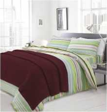 Плетено одеяло бордо, Одеяла, Продукти за сън 248152367