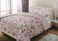 Спален комплект перкал floral butterfly /флорал бътерфлай/, Спални комплекти, Продукти за сън 112438313