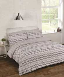 Спален комплект перкал chevron grey /шеврон/, Спални комплекти, Продукти за сън 1245724958